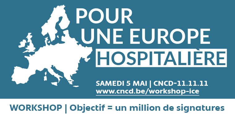 Workshop. Rendons l'Europe Hospitalière. Objectif 1 million de signatures !